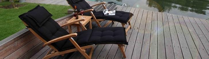 Deckchairs en loungers
