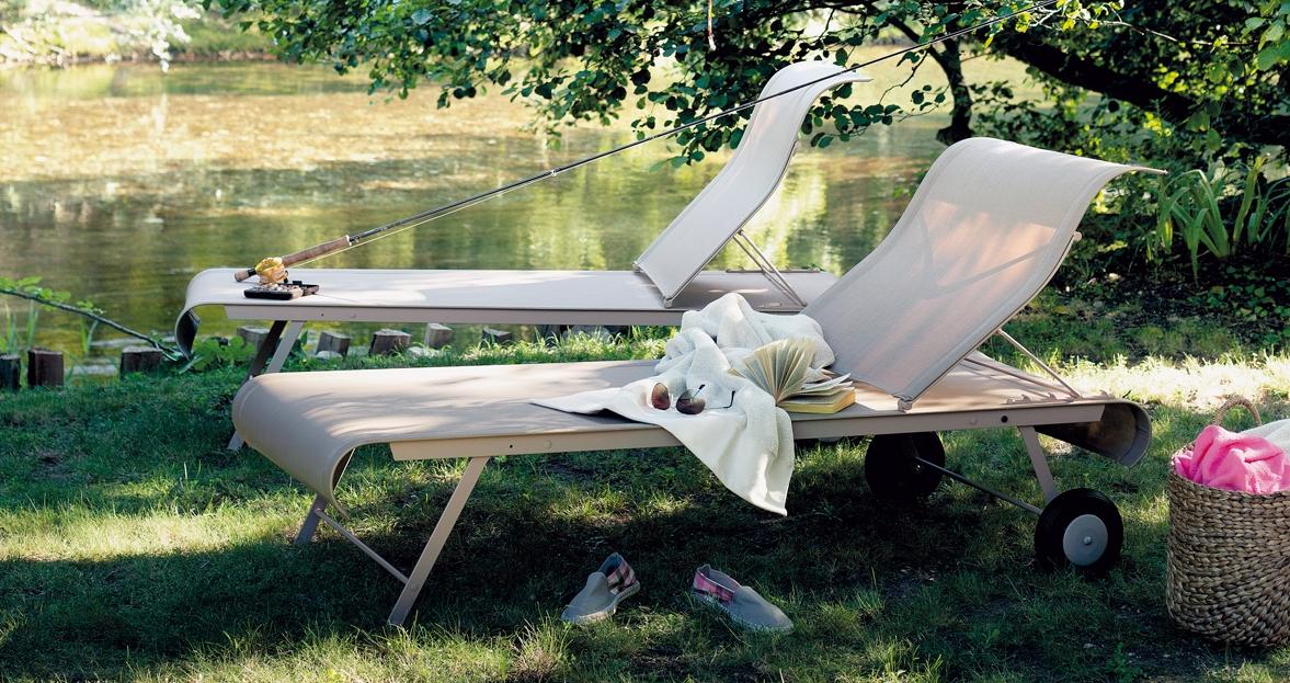 fermob dune zonnebed. Black Bedroom Furniture Sets. Home Design Ideas
