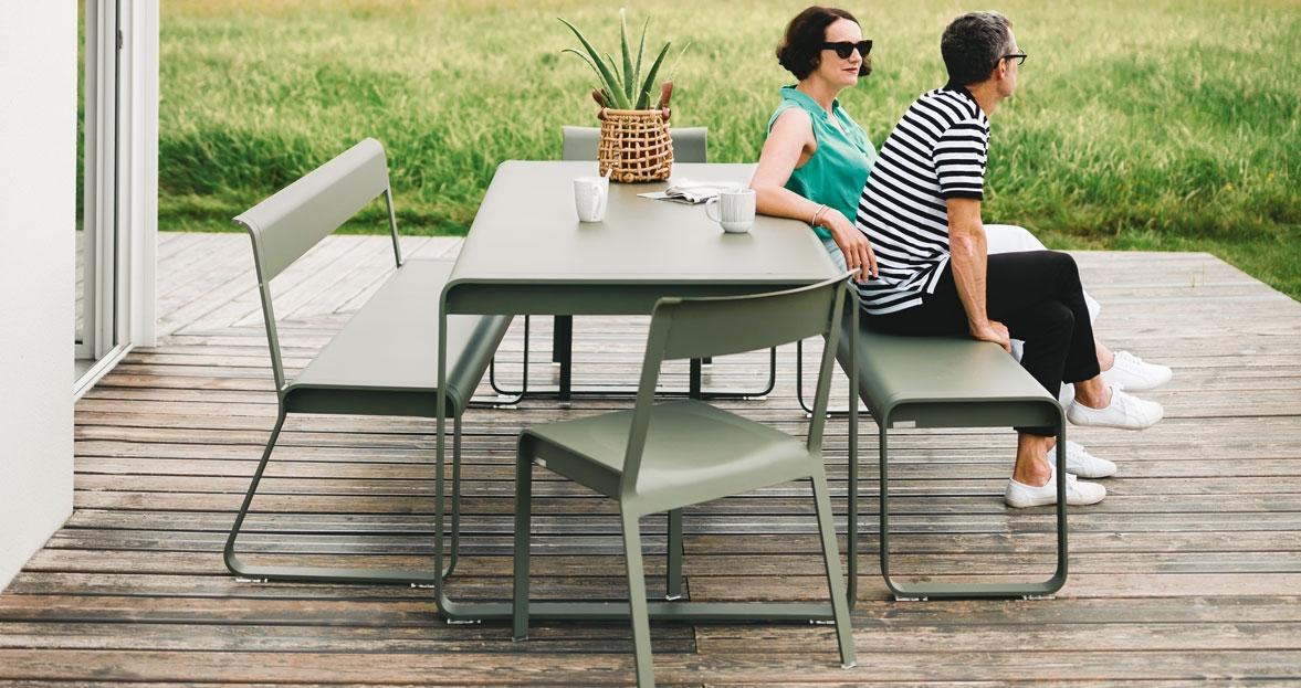 fermob bellevie table 196x90 cm. Black Bedroom Furniture Sets. Home Design Ideas